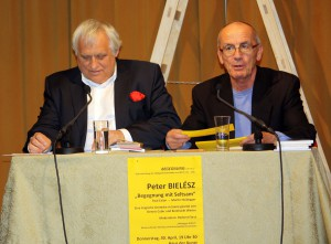 Peter Bielész im Gespräch mit Herbert Först