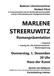 Plakat Streeruwitz 2011